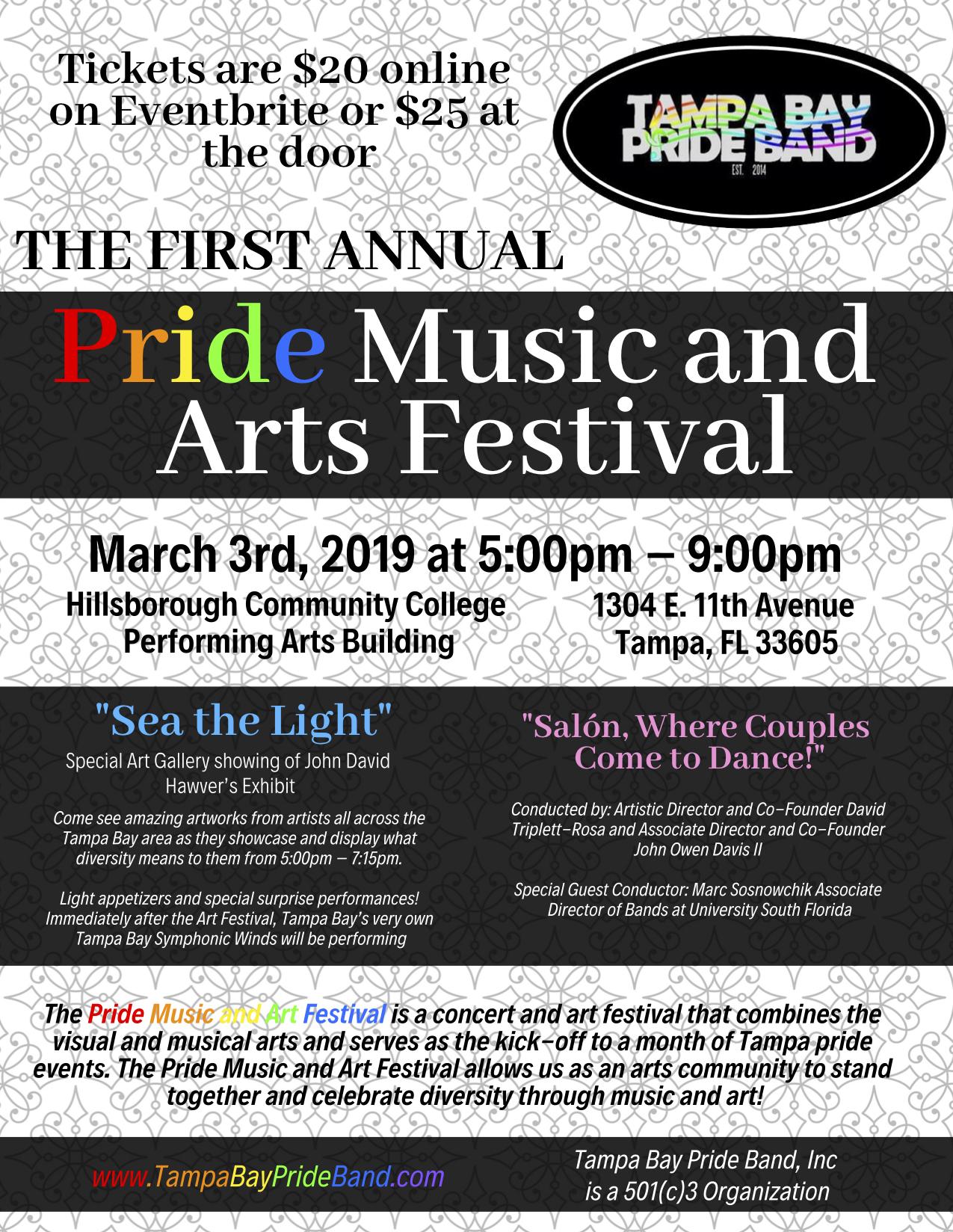 Pride Music & Art Festival